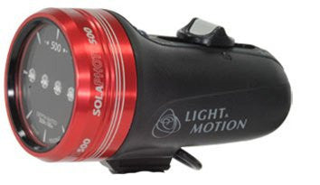 Light and Motion Sola Photo Light (500-Lumens, Red) -  - Light & Motion - Helix Camera