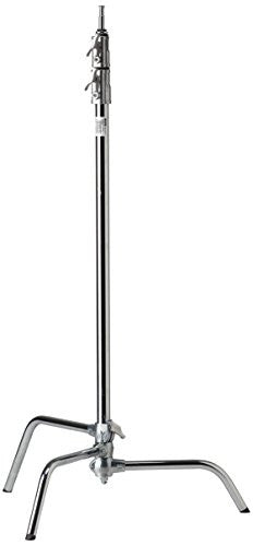 "Kupo 40"" Master C-Stand with Sliding Leg - Silver - Lighting-Studio - Kupo - Helix Camera"