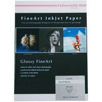 "Hahnemuhle Fine Art Baryta 325, Ultra Smooth High Gloss, Bright White Inkjet Paper, 325gsm, 8.5x11"", 25 Sheets"
