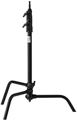 "Kupo 20"" Master C-Stand with Sliding Leg - Black - Lighting-Studio - Kupo - Helix Camera"
