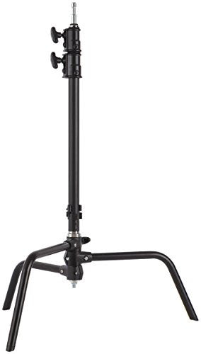 "Studio-Assets 20"" Double Riser C-Stand (Black) - Lighting-Studio - Studio-Assets - Helix Camera"