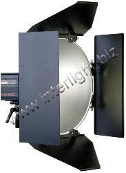 "Photogenic 4 Leaf Barndoor Set for Photogenic 16"" Reflector - Lighting-Studio - Photogenic - Helix Camera"