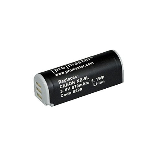 Promaster NB-9L XtraPower Lithium Ion Replacement Battery for Canon