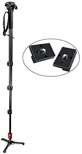 Manfrotto 560B-1 Fluid Video Monopod - Lighting-Studio - Manfrotto - Helix Camera