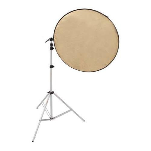 "Photogenic Chameleons Assistant 3-piece Kit, with 42"" Five-in-One Reflector, Stand and Adapter, Mounting Arm with Clips (CH42K) - Lighting-Studio - Photogenic - Helix Camera"