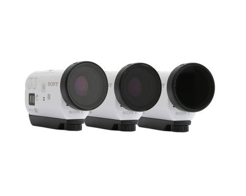 Sony ActionCam Filter 3-Pack: AS100, AS100V, AZ1