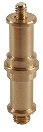 "Studio-Assets Double Ended Spigot with 1/4""-20 and 3/8""-16 Male Threads - Lighting-Studio - Studio-Assets - Helix Camera"