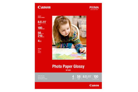 Canon Photo Paper Glossy 8.5x11 (100 Sheets)