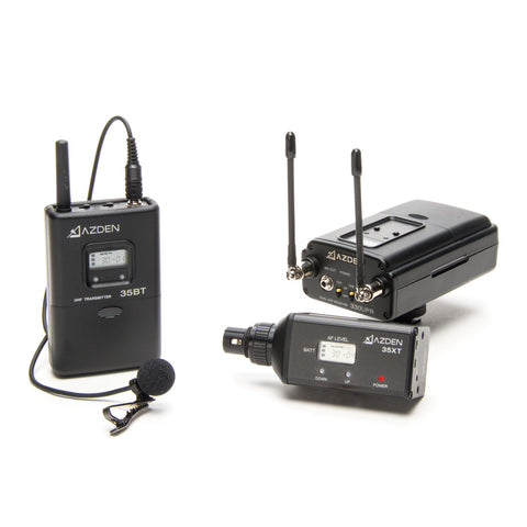 Azden Group Corp  Professional 2-Channel UHF Wireless XLR Plug And Lavaliere AN330LX - Photo-Video - Azden - Helix Camera