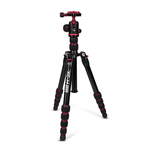 ProMaster XC-M 522K Professional Tripod Kit with Head - Red