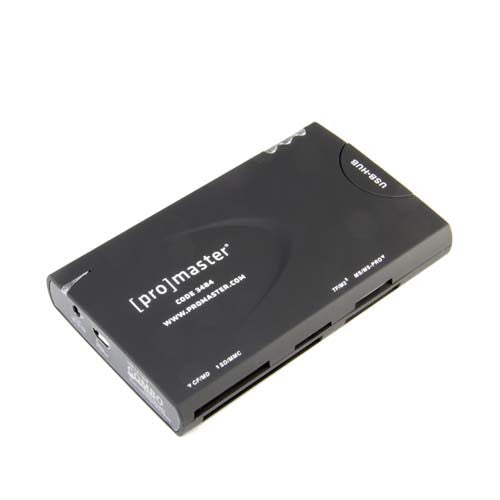 ProMaster All-In-One Memory Card Reader USB 2.0 - Photo-Video - ProMaster - Helix Camera