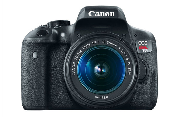 Used Canon EOS Rebel T6i EF-S 18-55mm f/3.5-5.6 IS STM