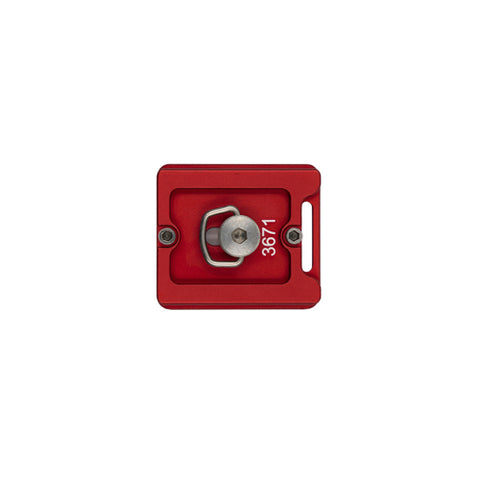 ProMaster Q/R Plate for XC-M Tripods and Ball Heads - Red
