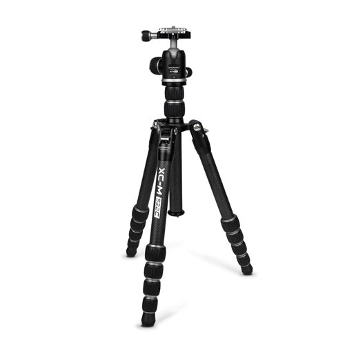 ProMaster XC-M 522CK Professional Carbon Fiber Tripod Kit with Head - Silver