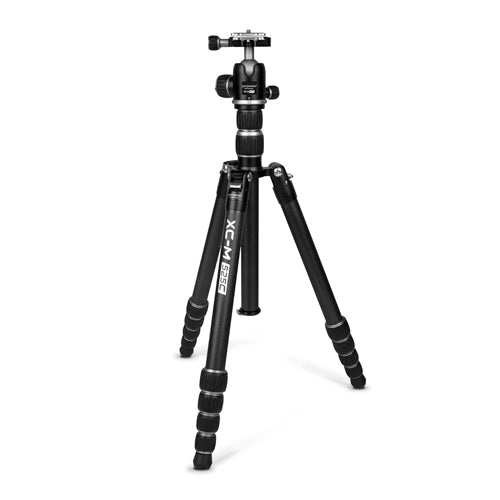 ProMaster XC-M 525K Professional Carbon Fiber Tripod Kit with Head - Silver