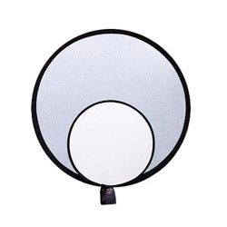 ProMaster Collapsible Reflector - Silver/White - 12""
