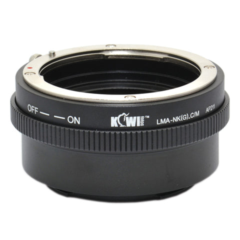 Kiwifotos Mount Adapter - Nikon G to Canon M