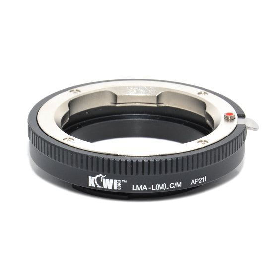Kiwifotos Mount Adapter - Leica M to Canon M