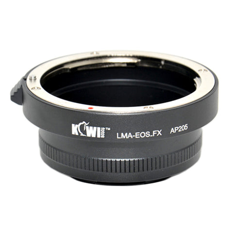 Kiwifotos Mount Adapter - Canon EF to Fuji X