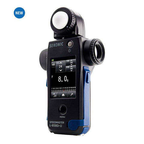 Sekonic L-858D-U Speedmaster Light Meter - Lighting-Studio - MacGroup - Helix Camera