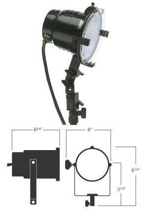 Smith Victor 765UM 600-watt quartz light (401114) - Lighting-Studio - Smith-Victor - Helix Camera
