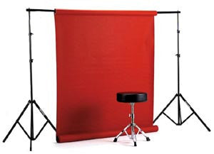 Smith Victor Economy BPR 9.5' background paper rack w/ two 10' stands & carry case (401266) - Lighting-Studio - Smith-Victor - Helix Camera