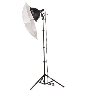 Smith Victor KT400 1-Light 500-watt Thrifty add-on kit w/ umbrella (401439)