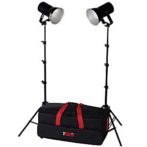Smith Victor K82 2-Light 500watt Ultra Cool Portable Kit (401460)