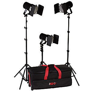 Smith Victor K63 3-Light 1800-watt controlled quartz portable kit (401463)  sc 1 st  Helix Camera & Lighting-Studio- Lighting azcodes.com