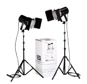 Smith Victor K61 2-Light 1200-watt controlled quartz kit (401488) - Lighting-Studio - Smith-Victor - Helix Camera