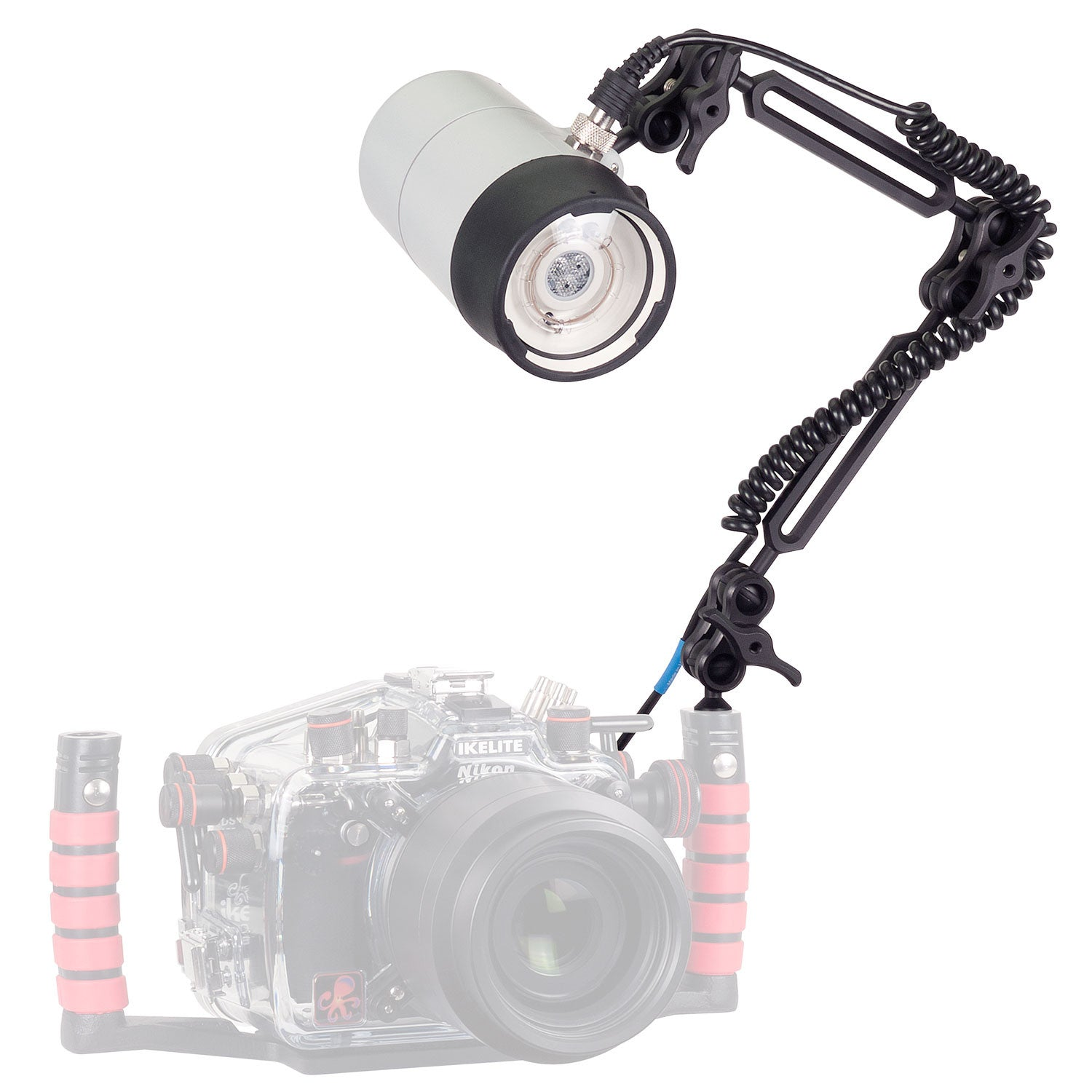 Ikelite DS161 Strobe Kit with Sync Cord + Arm / NiMH 4061.35 - UNDERWATER - Ikelite - Helix Camera