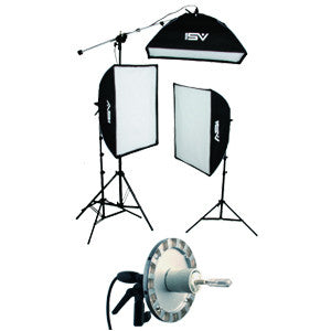 Smith-Victor KSB-500 Economy Softbox One Light Kit 120V AC with SBL-2436 Softbox Light /& 500W Photoflood Lamp Light Stand