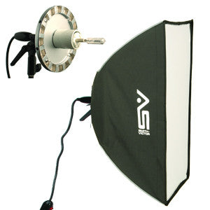 "Smith Victor SBQ-2432 24""x32"" rectangular quartz SoftBox Light  (408094) - Lighting-Studio - Smith-Victor - Helix Camera"