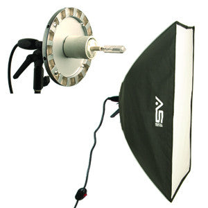"Smith Victor SBQ-1236 12""x36"" strip quartz SoftBox Light  (408096) - Lighting-Studio - Smith-Victor - Helix Camera"