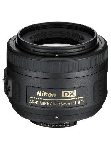 Nikon AF-S NIKKOR 35mm f/1.8G DX - Photo-Video - Nikon - Helix Camera