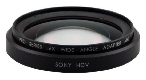 Century .6X HD Wide Angle Adapter, Sony HDV