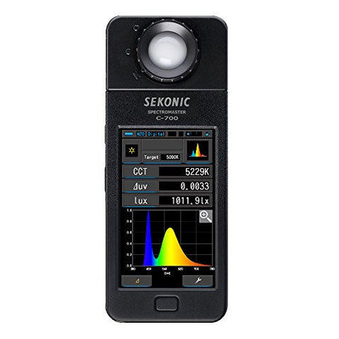Sekonic Corporation 401-700 C-700 Spectromaster Color Meter (Black) - Lighting-Studio - Sekonic - Helix Camera