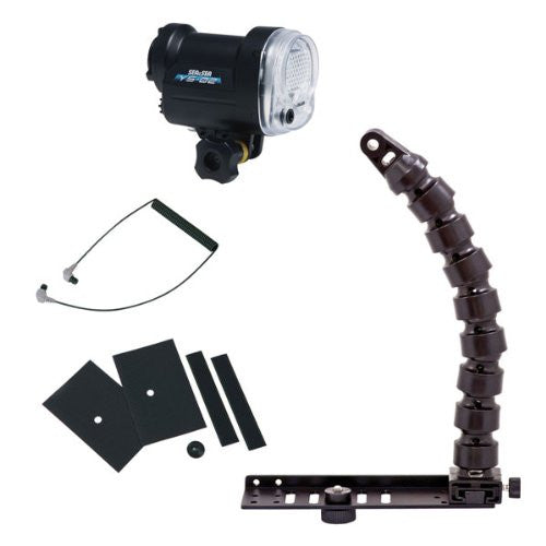 Sea & Sea YS-02 Strobe Lighting Package with Flex Arm & Tray
