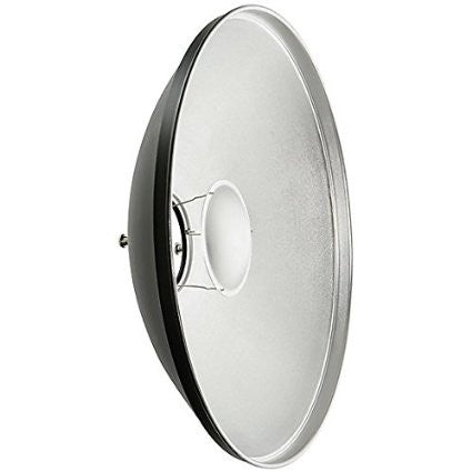 "Studio-Assets 22"" White Interior Beauty Dish with Bowens Mount"