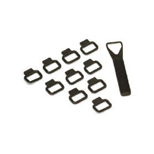 Bowens BW-2618 Cable Fixing Kit Small Band (set of 10) (Black)