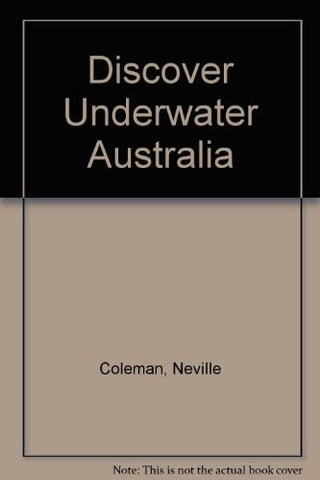 Discover Underwater Australia - Books - Helix Camera & Video - Helix Camera