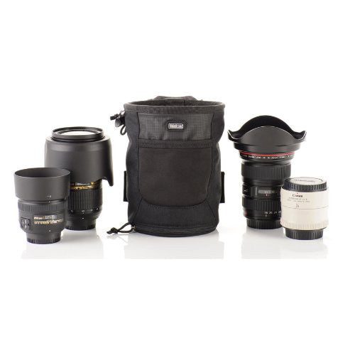 Think Tank Lens Drop Belt Pouch for Standard Zoom Lenses, Small Primes and Teleconverters