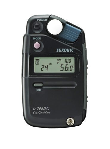 Sekonic DigiCineMate L-308DC Photographic Light Meter (Black) - Lighting-Studio - Sekonic - Helix Camera