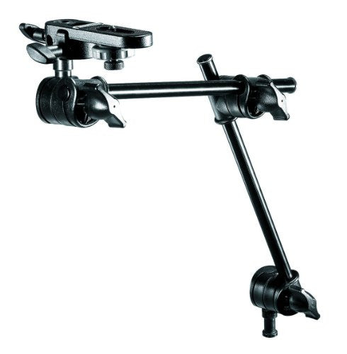 Manfrotto 196B-2 143BKT 2-Section Single Articulated Arm with Camera Bracket (Black) - Lighting-Studio - Manfrotto - Helix Camera
