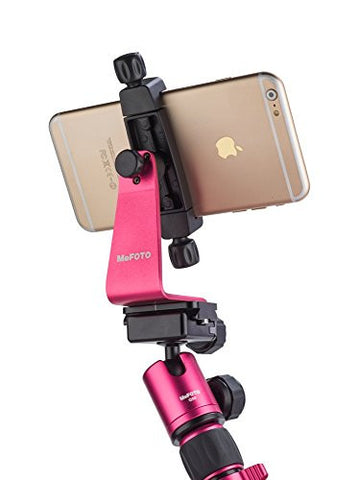 MeFOTO MPH200H SideKick 360 Plus Smartphone Adapter Hot Pink (HOT PINK)