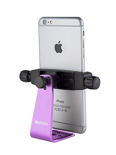MeFOTO MPH200P SideKick 360 Plus Smartphone Adapter Purple (PURPLE) - Mobile - MeFoto - Helix Camera