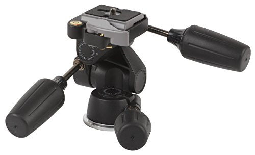 Studio-Assets Magnesium 3-Way Low-Profile Pan/Tilt Tripod Head - Lighting-Studio - Studio-Assets - Helix Camera