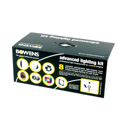 Bowens BW-6665 Advanced Lighting Reflector Kit (Black) - Lighting-Studio - Bowens - Helix Camera