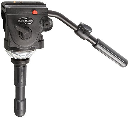 Studio-Assets Pro Video Fluid Tripod Head with 75mm Half Ball - Photo-Video - Studio-Assets - Helix Camera