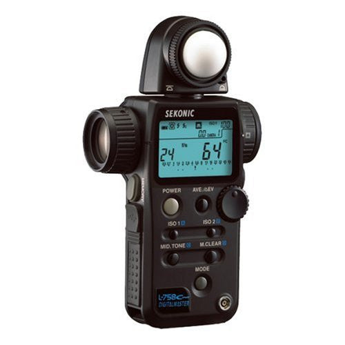 Sekonic L-758Cine Light Meter (Black) - Lighting-Studio - Sekonic - Helix Camera